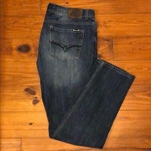 Men's SEVEN Jeans!  38x34. Like new!